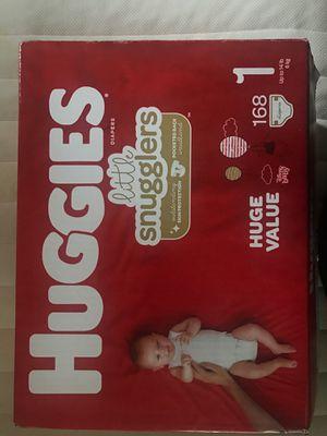 Huggies Diapers size 1 for Sale in Kearns, UT