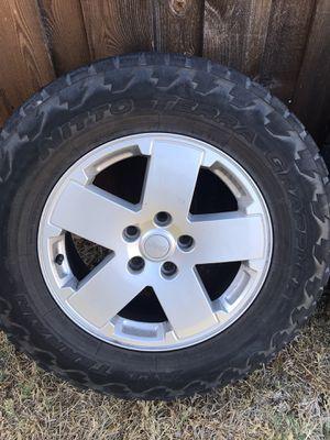 Jeep Wrangler Wheels & Tires for Sale in Grand Prairie, TX