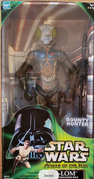 New Star Wars (Power of the Jedi) 4-LOM Figure. for Sale in Longwood, FL