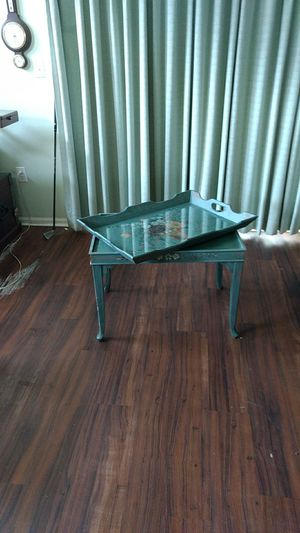 Antique combination tray table for Sale in Bluffton, SC