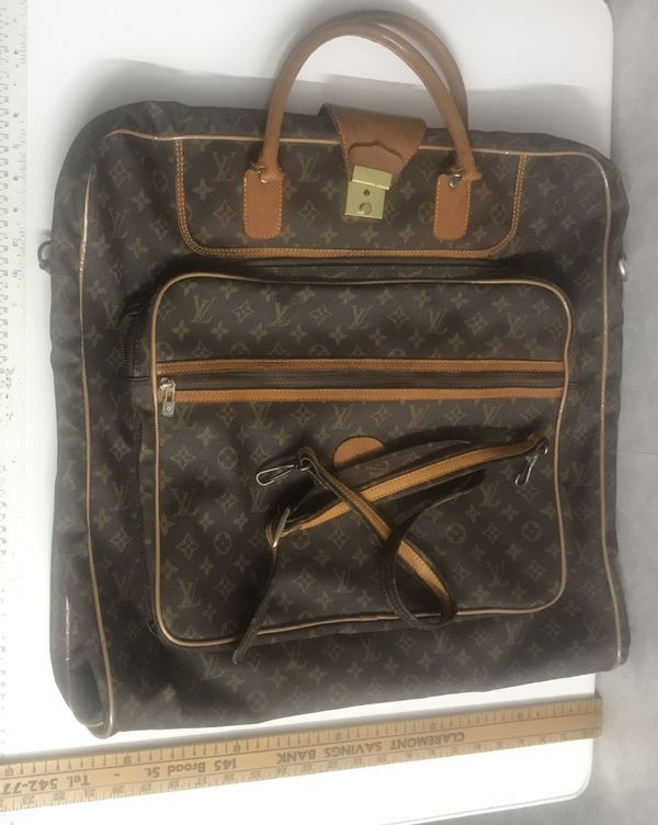 Louis Vuitton garment bag purse vintage authentic