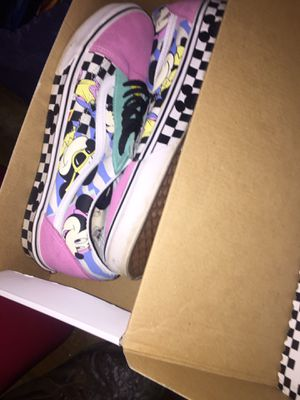 Limited edition 11.5 Mickey Mouse vans for Sale in Youngstown, OH