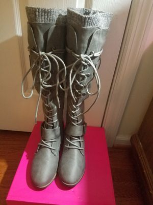 Boots Size 8 New never used for Sale in Ashburn, VA