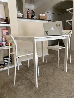 IKEA Dining table set with two chairs for Sale in Dallas, TX