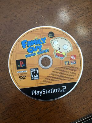 PS2 game. Family Guy the video game. PlayStation 2 game disc only. for Sale in Scottsdale, AZ