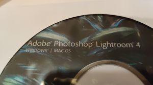 ADOBE PHOTOSHOP LIGHTROOM 4 WINDOWS/ MAC OS for Sale in Land O' Lakes, FL