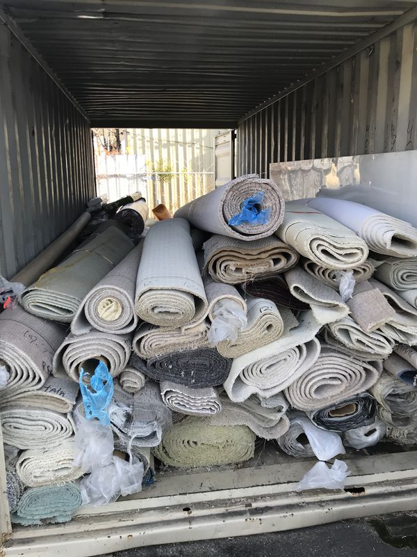 Free Carpet remnants- different colors and sizes