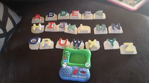 1/3 Leap Frog fridge phonics and numbers - Tested for Sale in US
