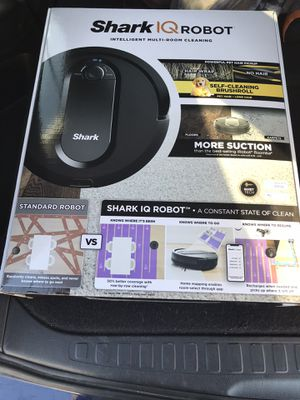 Shark iQ robot vacuum for Sale in North Las Vegas, NV