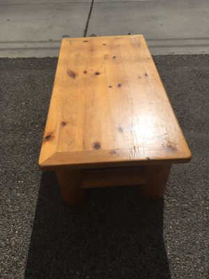 Log cabin style table for Sale in Costa Mesa, CA