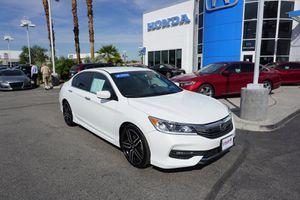 2017 Honda Accord Sedan for Sale in Indio, CA