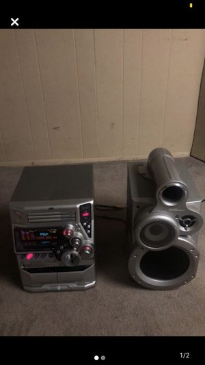 JVC Compact Component System MX-GT80 Extended Super Bass for Sale in Parsippany-Troy Hills, NJ