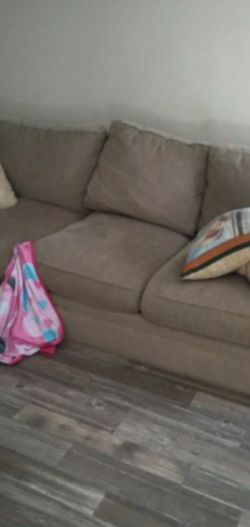 Couch And Ottoman for Sale in Houston,  TX