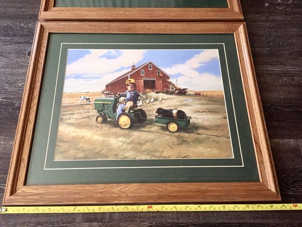 Farmhouse Ranch Art Picture Frame