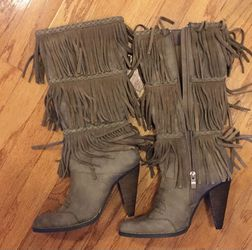New)Very Volatile fringe western boots. Size 7.5 for Sale in Falls Church,  VA