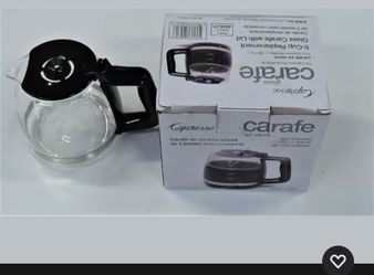 5-Cup Replacement Capresso Clear Glass Carafe Model for Sale in Bell,  CA