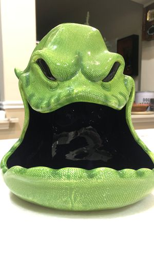 Disney nightmare before christmas RARE OOGIE BOOGIE Candy Bowl for Sale in Clovis, CA