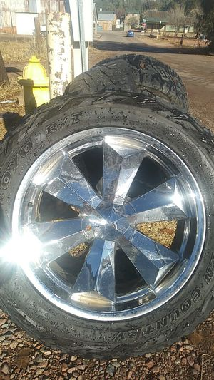 22 inch rims 5 lug universal ford for Sale in Payson, AZ