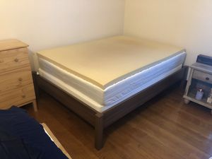 IKEA full-sized bed, excellent condition—$300 OBO for Sale in Delmar, NY