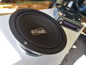 Atomic 6.5 Mid Bass Speaker for Sale in Greeley, CO