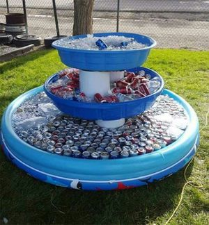 Plastic pool for beverage station! for Sale in Shelby charter Township, MI