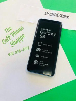 Samsung Galaxy S8 Gray Color Unlocked Ready for att tmobile metro cricket for Sale in Carrollton, TX