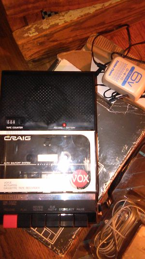 CRAIG voice cassette tape recorder . for Sale in Jonesboro, AR
