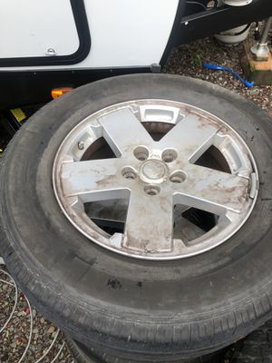 Jeep Wrangler wheels for Sale in Stanwood, WA
