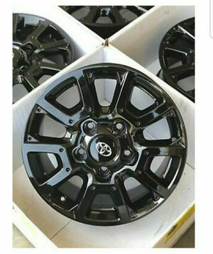 "18"" TOYOTA TUNDRA TRD PRO OEM FACTORY WHEELS RIMS Black for Sale in Solana Beach, CA"