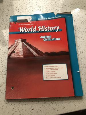 5th Grade World History work book!! (Mcdougal Littel) for Sale in Cerritos, CA