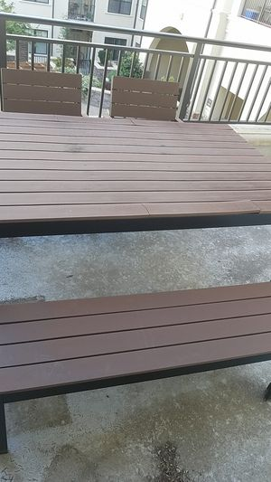 LIKE NEW!!FARM STYLE PATIO FURNITURE, for Sale in Raleigh, NC