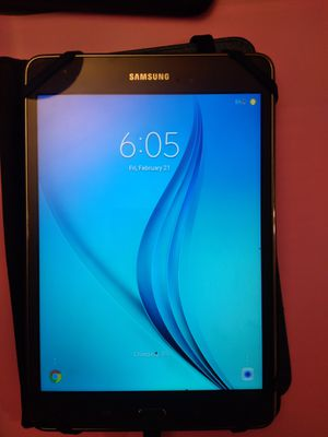 Samsung tablet (reduction to 60 if picked up tonight) for Sale in Spokane, WA