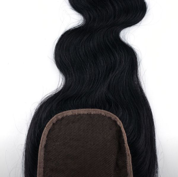 Brazilian Body Wave Real Human Hair Lace Closure Free Part 4x4 Lace Top Closure