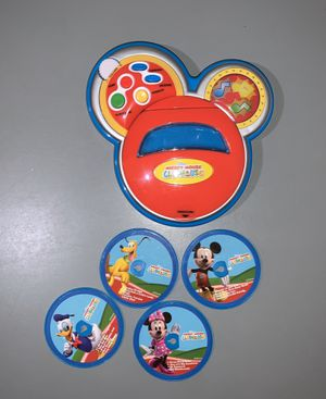 Mickey Mouse Clubhouse Sing with me CD player for Sale in Pacifica, CA