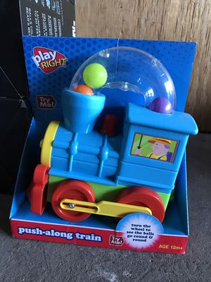 Play Right kids push along train baby toy for Sale in San Francisco, CA