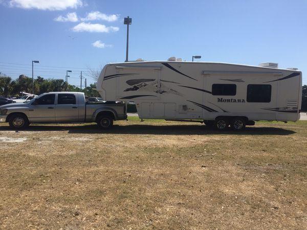 5th Wheel, travel trailer transport