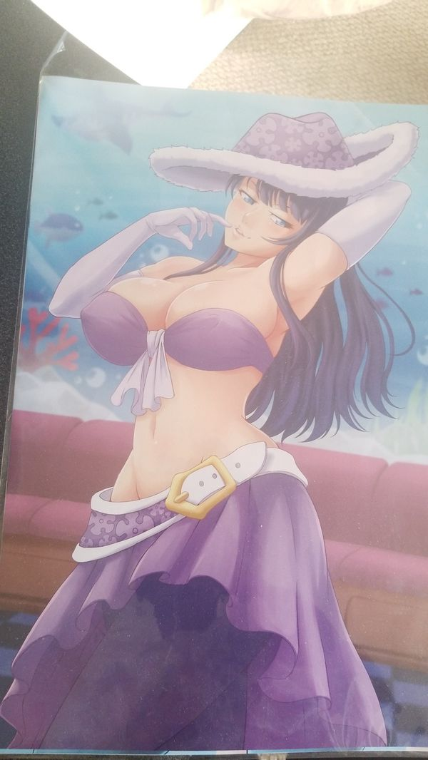 One piece Anime Posters. Nami/Nico Robin