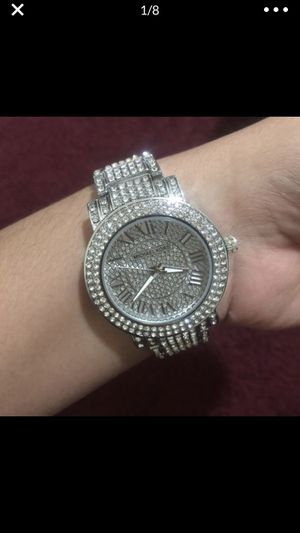 Mk Michael kors crystal watch for Sale in Colesville, MD