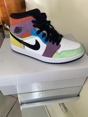 Supreme Nike Air Jordan 1 Mid Women's 6.5 sneakers shoes sports AMAZING PRICE! for Sale in Los Angeles, CA