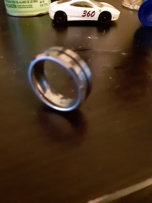 Size 9 mens Tunsttrum ring new for Sale in Alexandria, LA