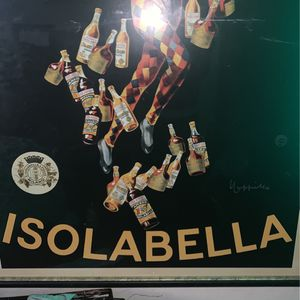 Mid 20th Century Isolabella Poster Print Custom Framed for Sale in Portland, OR