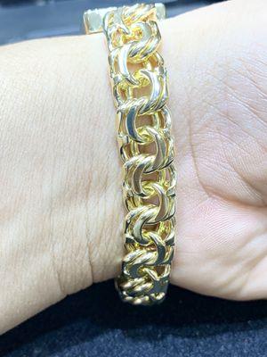 14 Karat Gold Chino links bracelets custom made #271TD for Sale in Orange, TX
