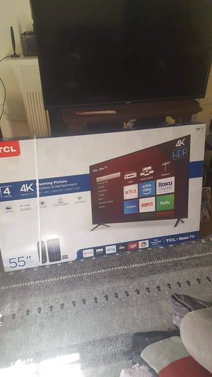 "TCL 55"" Smart TV 4K for Sale in Detroit, MI"