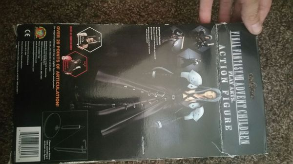 Never Opened Final Fantasy Sephiroth Action Figure