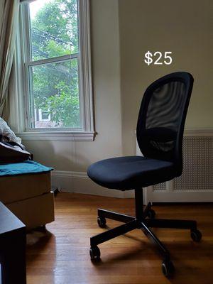 IKEA Black reclining desk chair for Sale in Brookline, MA