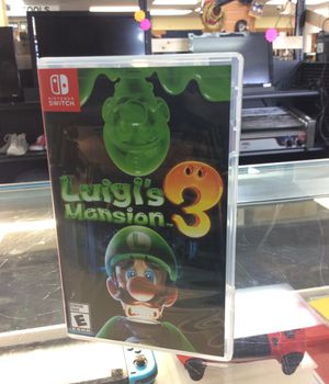 NINTENDO SWITCH LUIGIS MANSION 3 for Sale in Hollywood, FL