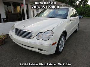 2002 Mercedes-Benz C-Class for Sale in Fairfax, VA