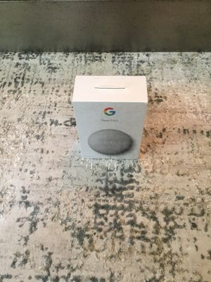 Google nest mini 2nd gen! Brand new! Unopened box ! for Sale in Waxhaw, NC