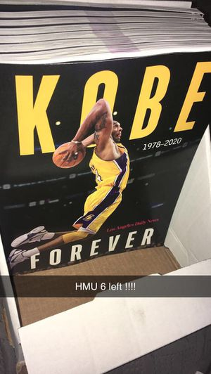 Kobe forever 1978-2020 Los Angeles daily news magazine for Sale in Paramount, CA