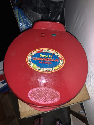 Santa Fe quesadilla maker for Sale in San Diego, CA